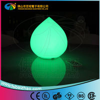 RGB Living Color Changing Peach Shape LED Table Light