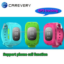 Hot selling!!! Kids GPS tracking smart wach phone, positioning SOS smart watch for Child
