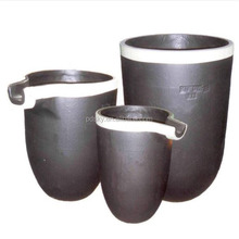 High quality and density Isostatic /molded pressing graphite casting crucible