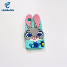 3D Cute silicone animal Phone Customized Case Back Cover phone case