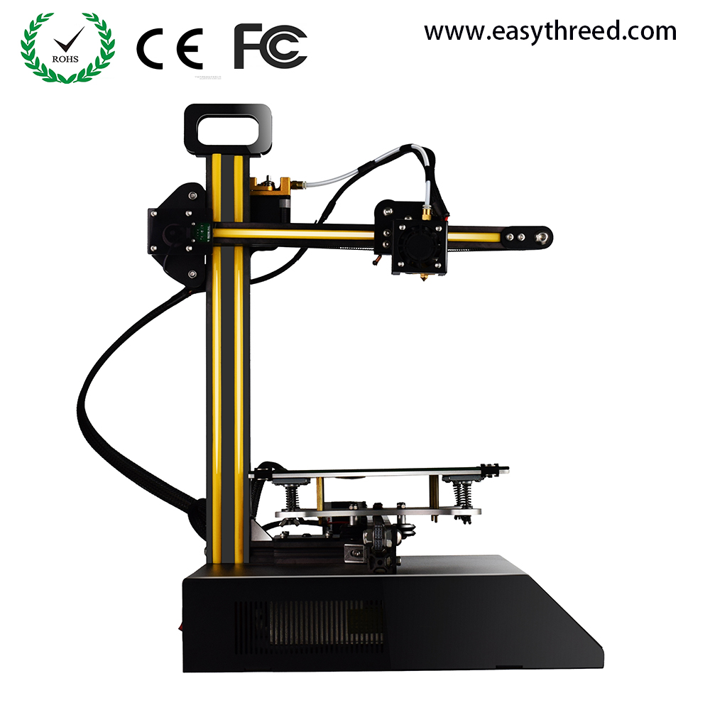 Chinese self-developed mini fabrikator DIY 3d printer with own slicing software