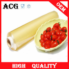 Transparent and soft rigid plastic pvc heat shrink wrap film for food
