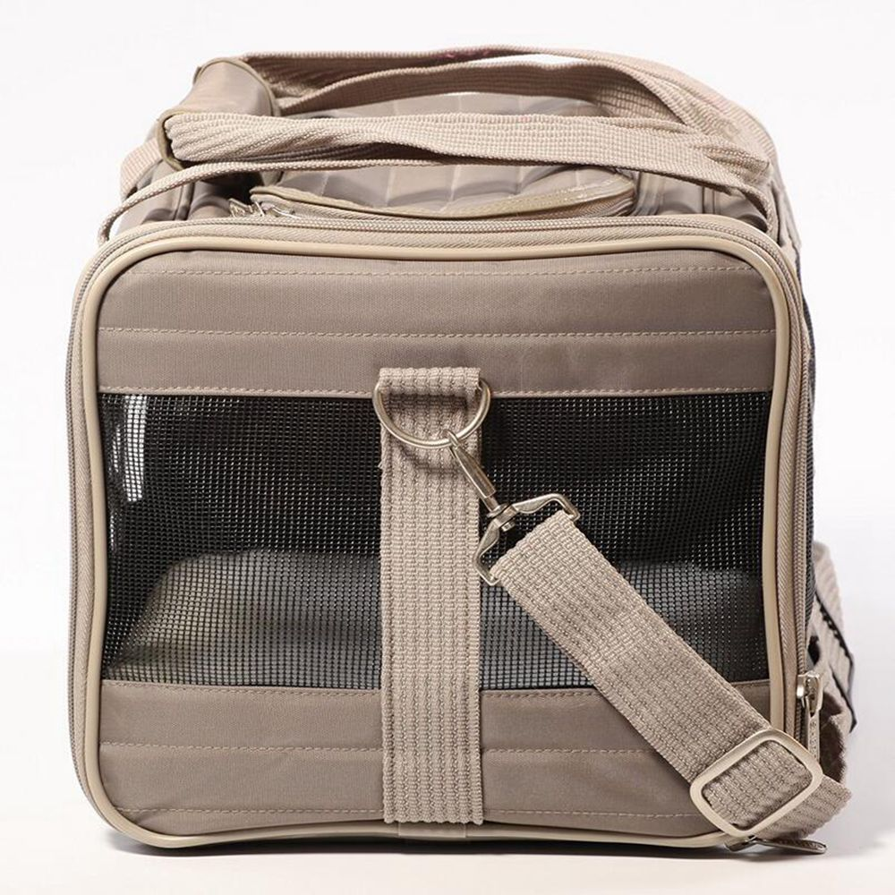 Canvas Durable Portable Capacity Dog Travel Bag Cat House with for Medium-sized Pets