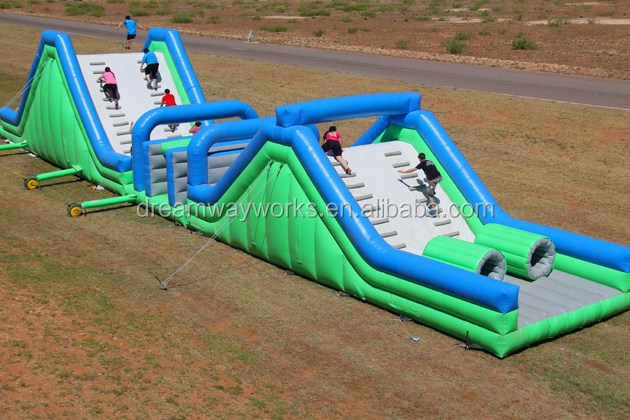 Insane Inflatable 5K Obstacle course for sale