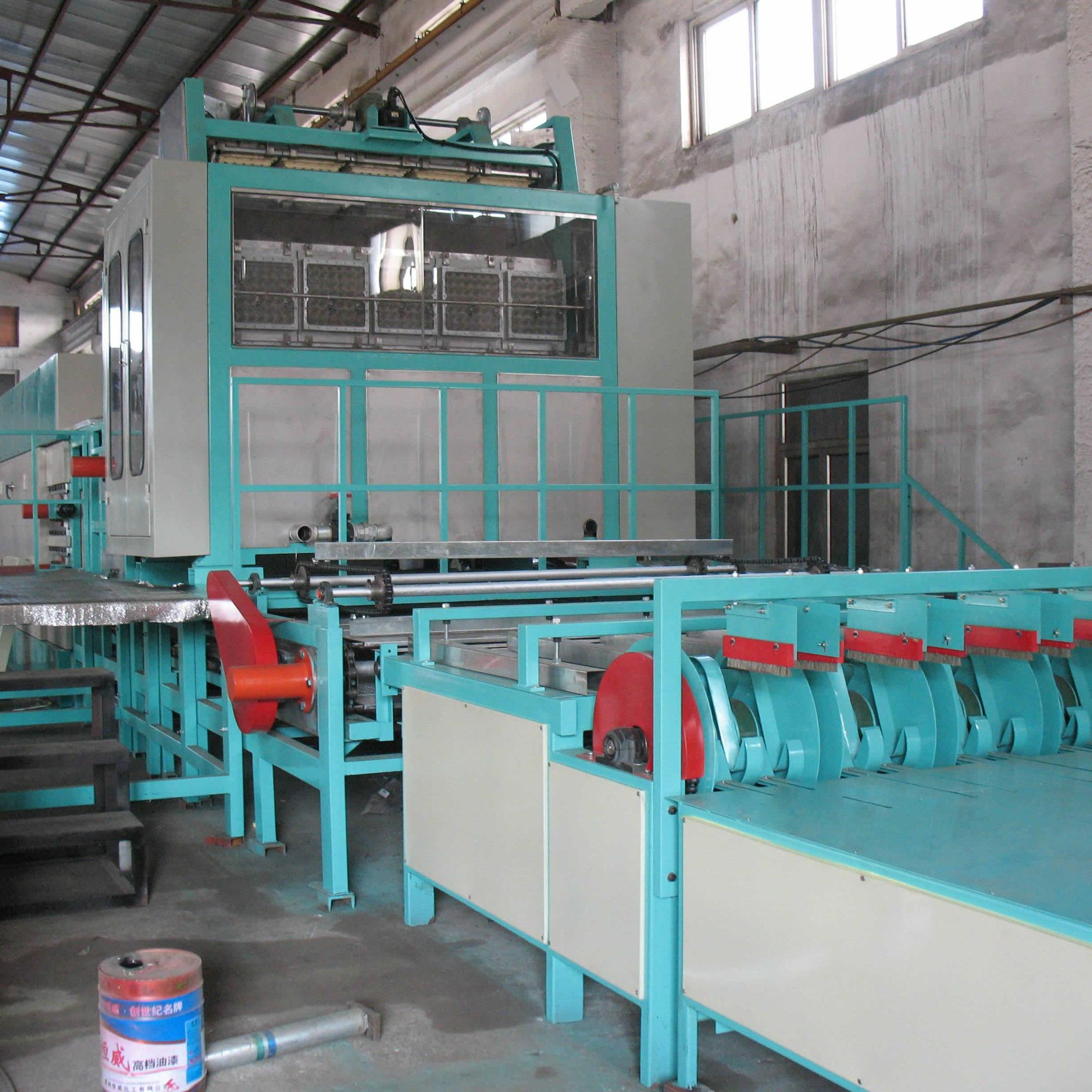 egg laying automatic block production line