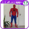 2015 HI hot sale black spiderman costume for adult