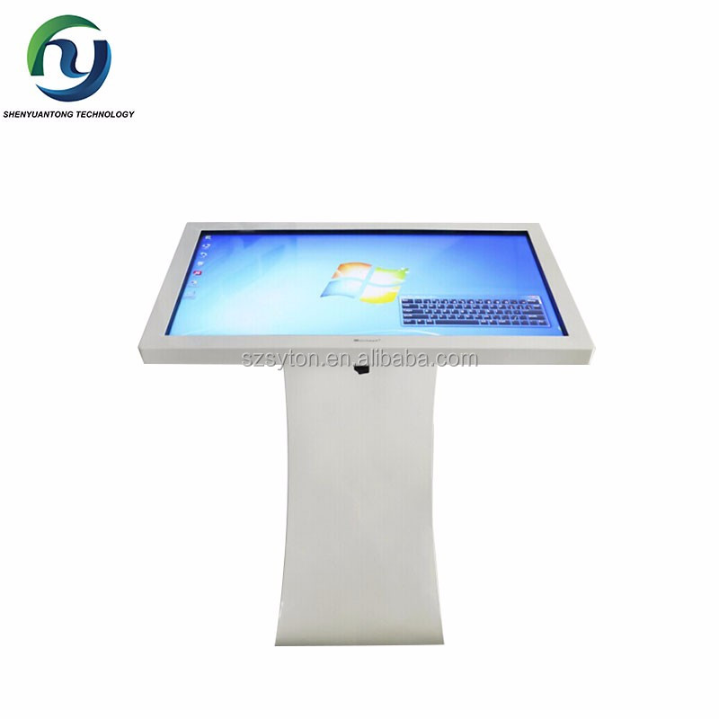 Android 55 Inch Shopping Mall Touch Screen Kiosk Windows Advertising Player
