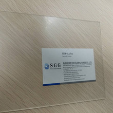 High quality 2mm non-glare picture frame sheet glass