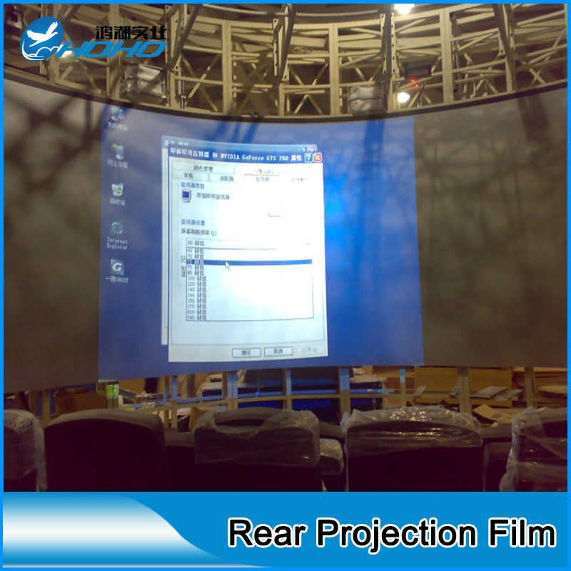 Minority report future technology holographic rear projection film