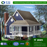 2016 hot sales energy saving prefabricated wooden house