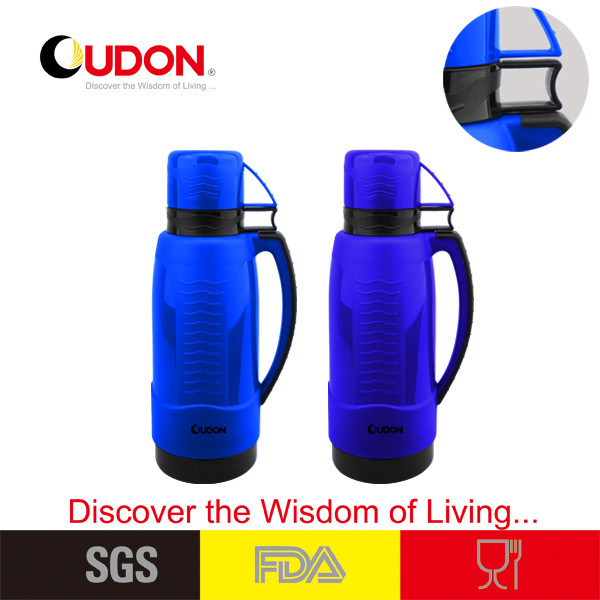 High quality plastic parts vacuum flask