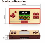 Best Selling FC pocket Nostalgia 2.6 inch color screen Game Video Handheld Game Console