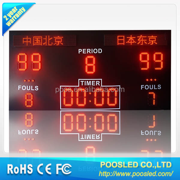 List Manufacturers Of Used Basketball Scoreboard For Sale