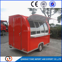 China Major Manufacturer Street Vending Mobile Food Carts for sale