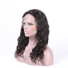 Raw unprocessed virgin 7A Brazilian hair Natural wave natural hair line wigs 130% density $100 full lace wig