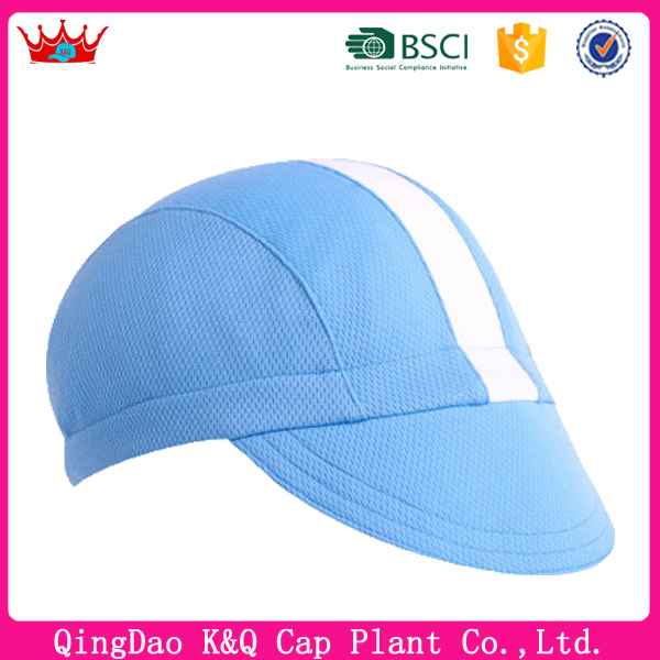 100%Cotton blank cycling caps hats wholesale