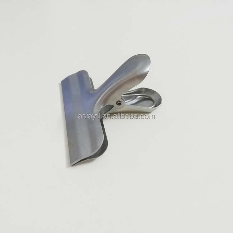 high quality stainless steel strong closed and preserved clip for food bag cheap price
