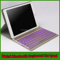 metal bluetooth keyboard for ipad air 2 tablet accessories