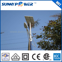 Garden use 30w 40w 60w 80w white Energy-saving solar power led street light