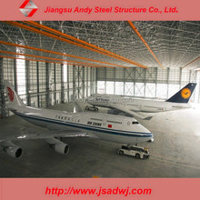 Hot Dip Galvanization Steel Building Space Frame Airport