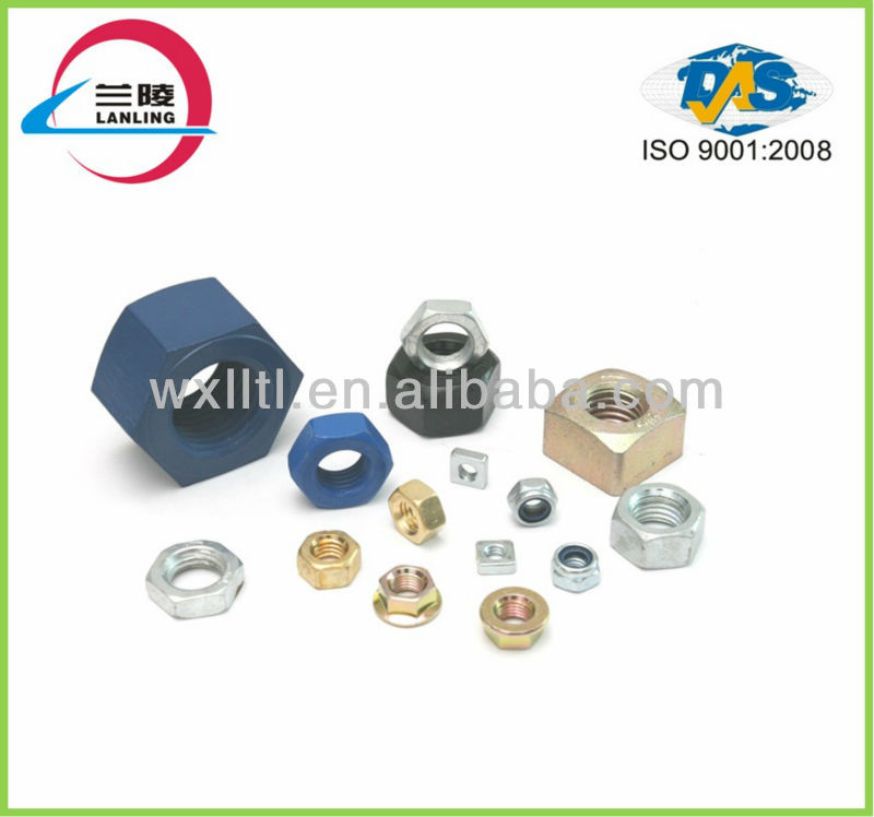 high strength railway fastening system railway bolt and nut