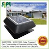 14 inch Roof Mounted Air Circulation Heat Extractor Exhaust Fan (Green Solar Energy)