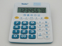 cheap durable desk 8-digit calculator FM radio