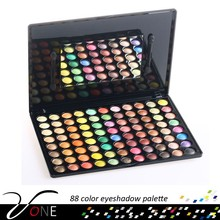 88 color waterproof makeup kit fancy eye shadow display case