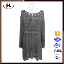 long sleeve plus size latest fashion women casual blouse designs for ladies