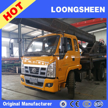 Top Quality Mini Truck Mounted Crane 10ton With ISO9001 and Work Bucket
