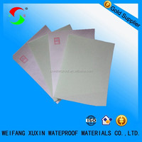 non-woven polyester mat for modified bitumen membrane