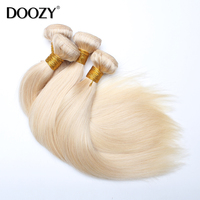 Doozy 613 blonde brazilian virgin hair straight honey blonde virgin hair