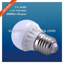 SYW 2013 reat durable ce and rohs compliant high lumen output 3W R80 LED Bulb