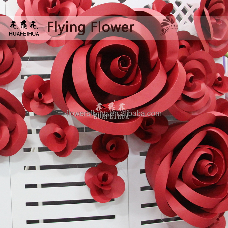 Shanghai factory Nice looking cheap artificial red blue rose flower