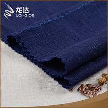 Longda Hot sale eco-friendly woven blended linen viscose fabric