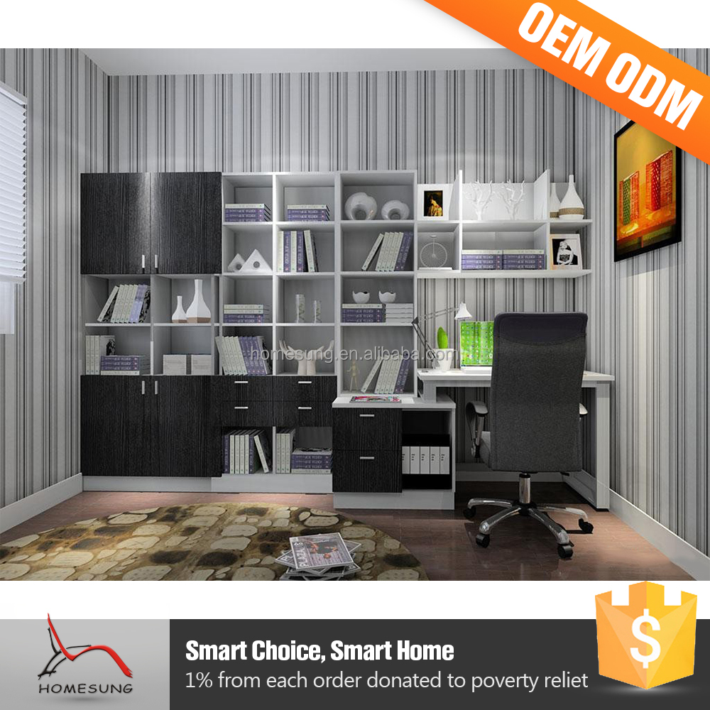 Modern Furniture Design Bookcase Hanging Cabinet For Living Room