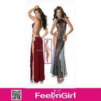 2014 wholesale cheap new arrival stylish sex prom gown