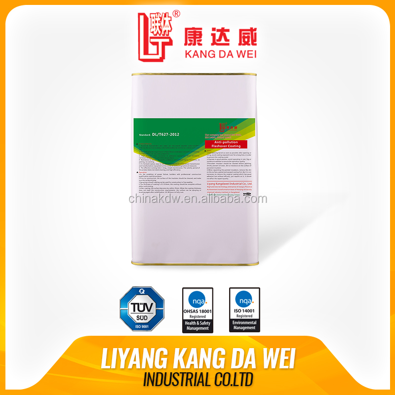 Fast curing silicone rubber anti-pollution flashover coating for insulator
