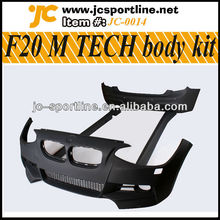 Hot New 1 series PU F20 M Tech Body Kits for BMW F20 front rear car bumper