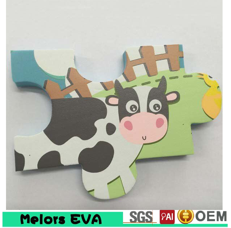 New Design Eva Baby Bath Puzzle Toy Eva Foam Intelligent Bath Jigsaw Puzzle