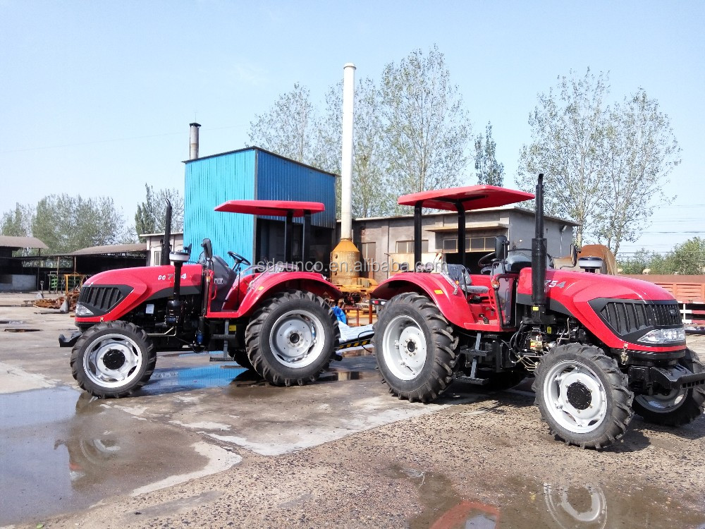 Competitive Quality !! 4 Wheel Driven farm Tractor DQ754