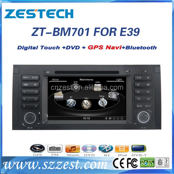 automobile autoparts car gps for BMW E39 5 series E53 X5 car dvd radio gps player with Bluetooth am/fm canbus