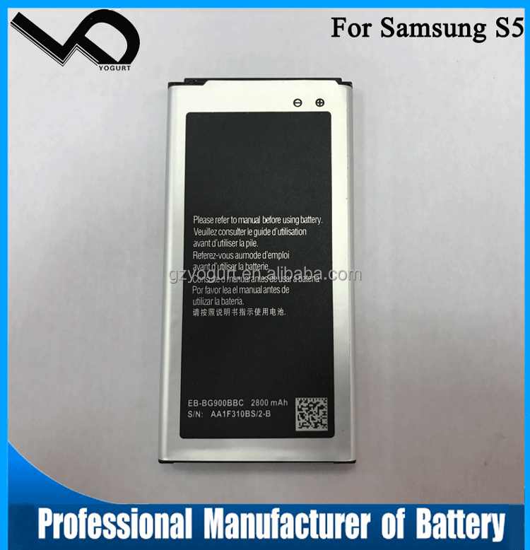 li-ion 3.85v battery for samsung Galaxy S5 lithium battery