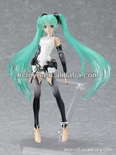 Anime Figma 100 Hatsune Miku Append Action Figure Toy In Box Doll puppet Vocaloid Series