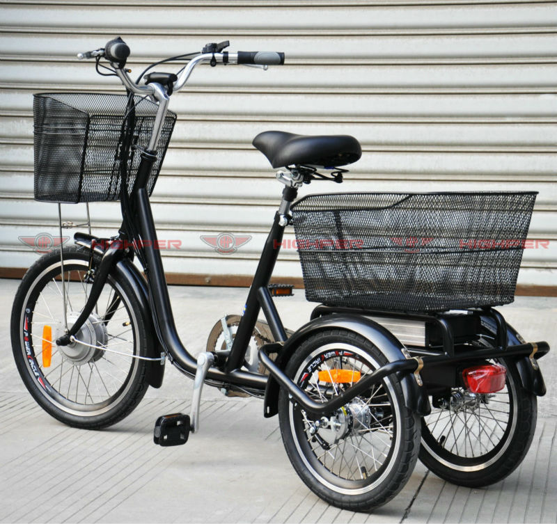 Electric Tricycle, Electric 3 wheel Bicycle (EL08)