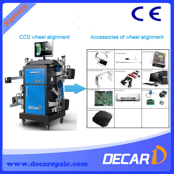 On sale Decar DK-A7 CCD manual wheel alignment machine price