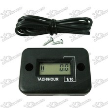Tach Hour Meter Fits Pit Dirt Bike Snow Mobile ATV Go Kart Motorcycle