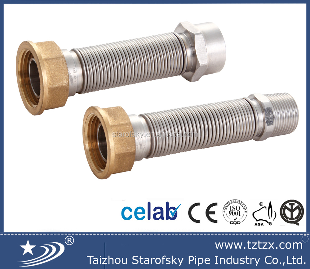 CHINA SUPPLIER 316L COUNTER FLEXIBLE GAS HOSE TUBING