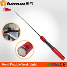 D9170 Foldable Handle SMD Work Light Protable Emergency Torch Led Magnetic Base Telescopic Flashlight for Camping