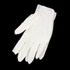 disposable black synthetic rubber latex gloves